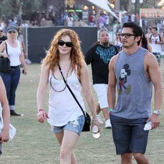 Rachelle Lefevre in Celebrities at The 2012 Coachella Valley Music and Arts Festival - Week 2 Day 3