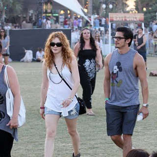 Rachelle Lefevre in Celebrities at The 2012 Coachella Valley Music and Arts Festival - Week 2 Day 3 - rachelle-lefevre-2012-coachella-week-2-day-3-04