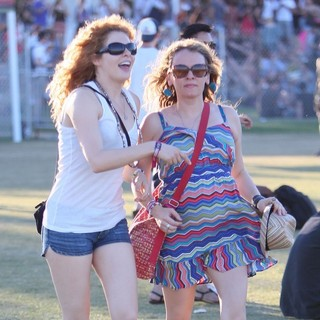 Celebrities at The 2012 Coachella Valley Music and Arts Festival - Week 2 Day 3
