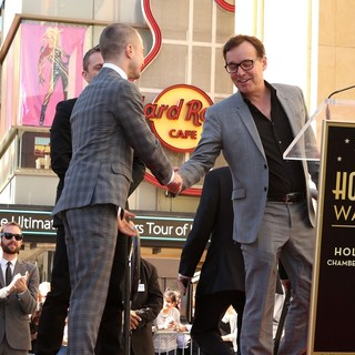 Daniel Radcliffe, Chris Columbus in Daniel Radcliffe Honored with Star on The Hollywood Walk of Fame