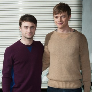 Daniel Radcliffe, Dane DeHaan in 57th BFI London Film Festival - Kill Your Darlings - Photocall