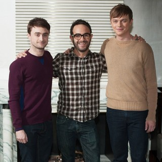 Daniel Radcliffe, John Krokidas, Dane DeHaan in 57th BFI London Film Festival - Kill Your Darlings - Photocall