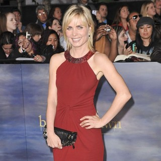 Radha Mitchell in The Premiere of The Twilight Saga's Breaking Dawn Part II