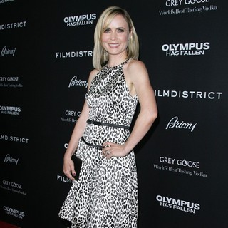 Radha Mitchell in Los Angeles Premiere of Olympus Has Fallen