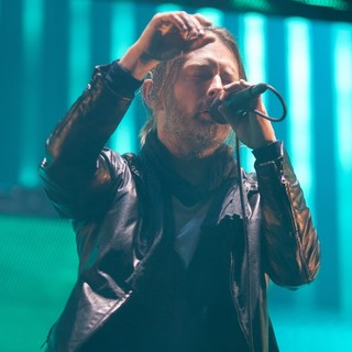 Thom Yorke, Radiohead in Radiohead Performs at The Foro Sol