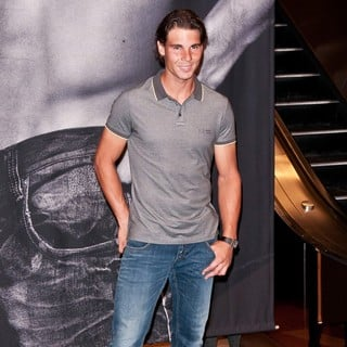 Rafael Nadal Launches His Armani Jeans Campaign