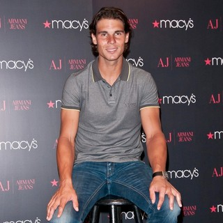 Rafael Nadal in Rafael Nadal Launches His Armani Jeans Campaign
