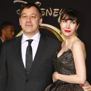 Sam Raimi, Gillian Greene in Oz: The Great and Powerful - Los Angeles Premiere - Arrivals