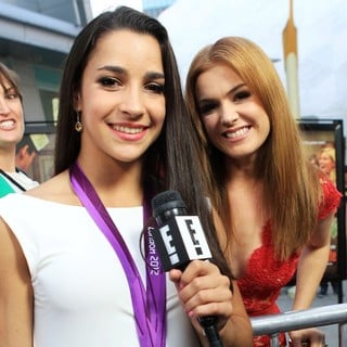 Aly Raisman, Isla Fisher in The Premiere of RADiUS-TWC's Bachelorette