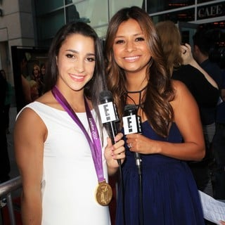 Aly Raisman, Kristina Guerrero in The Premiere of RADiUS-TWC's Bachelorette