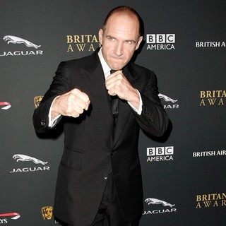 Ralph Fiennes in 2013 BAFTA Los Angeles Jaguar Britannia Awards Presented by BBC America - Arrivals