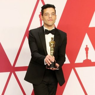 Rami Malek in 91st Annual Academy Awards - Press Room