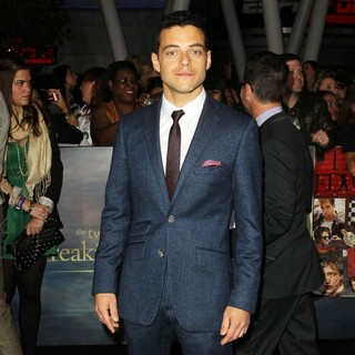 Rami Malek in The Premiere of The Twilight Saga's Breaking Dawn Part II