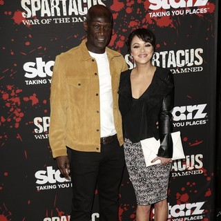 Marisa Ramirez, Peter Mensah in U.S. Premiere Screening of Spartacus: War of the Damned