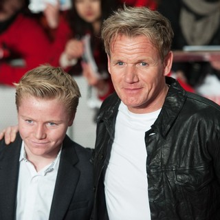 Jack Scott Ramsay, Gordon Ramsay in The World Premiere of The Class of 92 - Arrivals