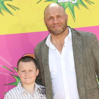 Randy Couture in Nickelodeon's 26th Annual Kids' Choice Awards - Arrivals