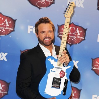 Randy Houser in 2013 American Country Awards - Press Room