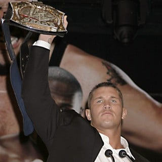 Randy Orton in Press Conference for WrestleMania XXIV