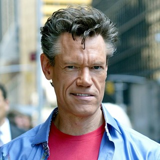 Randy Travis in Outside The Ed Sullivan Theater for The Late Show with David Letterman