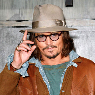 "Johnny Depp in Los Angeles Premiere of ""Rango"""