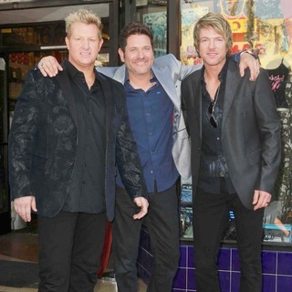Rascal Flatts in Rascal Flatts Honored with Star on The Hollywood Walk of Fame