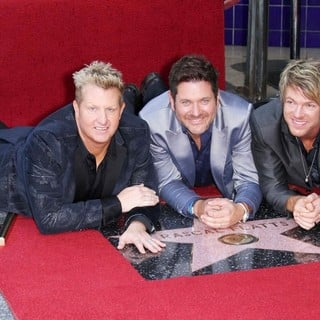 Rascal Flatts Honored with Star on The Hollywood Walk of Fame