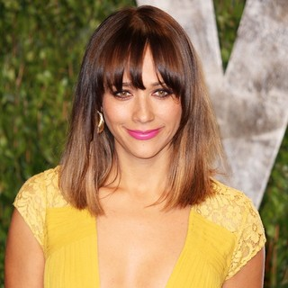 Rashida Jones in 2012 Vanity Fair Oscar Party - Arrivals