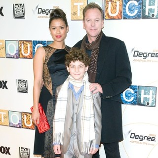 Gugu Mbatha-Raw, David Mazouz, Kiefer Sutherland in World Premiere of Touch - Red Carpet
