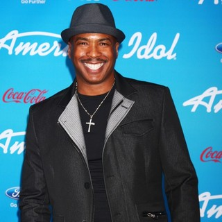 Ray Chew in FOX's American Idol Finalists Party