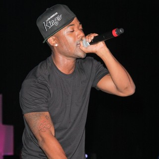 Ray J in Think Pink Rocks - Show