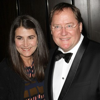 Denise Ream, John Lasseter in The 23rd Annual Producers Guild Awards - Arrivals