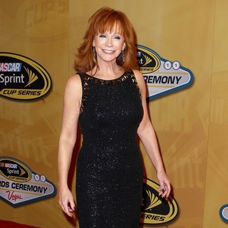Reba McEntire in 2011 Nascar Sprint Cup Series Awards Ceremony