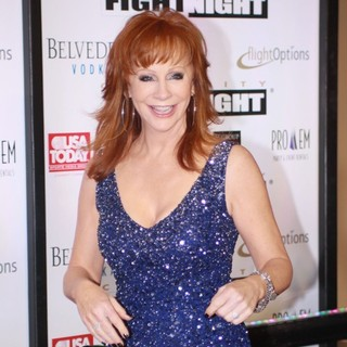 Reba McEntire in Muhammad Ali's Celebrity Fight Night XIII