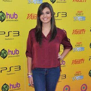 Rebecca Black in Variety's 5th Annual Power of Youth Event