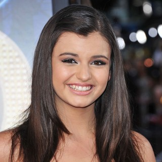 Rebecca Black in The World Premiere of Glee The 3D Concert Movie - Arrivals