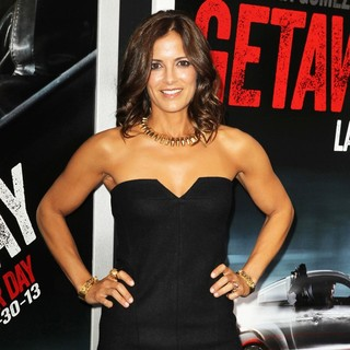 Rebecca Budig in Getaway Los Angeles Premiere