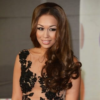 Rebecca Ferguson in The 2013 Brit Awards - Arrivals - rebecca-ferguson-2013-brit-awards-03