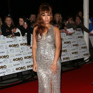 Rebecca Ferguson in The MOBO Awards 2012 - Arrivals
