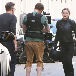 Rebecca Ferguson (II) in On The Film Set of Mission: Impossible 6