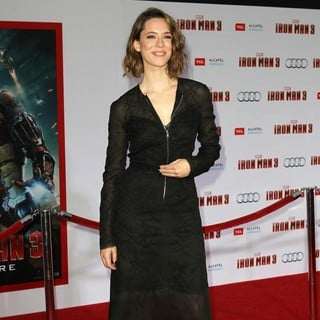 Rebecca Hall in Iron Man 3 Los Angeles Premiere - Arrivals
