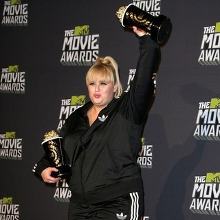 Rebel Wilson in 2013 MTV Movie Awards - Press Room