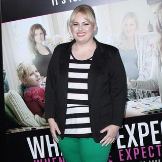 Rebel Wilson in The Los Angeles Premiere of What to Expect When You're Expecting - Arrivals