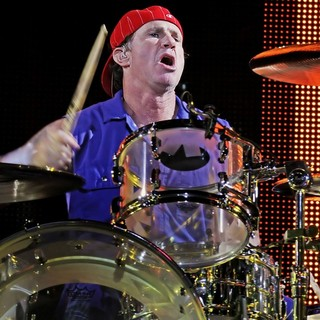 Chad Smith, Red Hot Chili Peppers in The Red Hot Chili Peppers Performing at Manchester MEN Arena