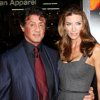 Sylvester Stallone, Jennifer Flavin in Special Screening of Summit Entertainment's 'RED'