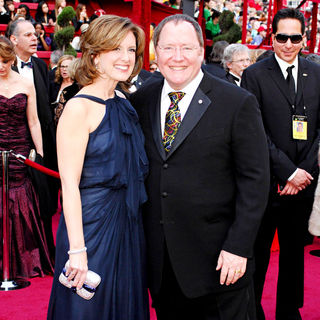 Ann Sweeny, John Lasseter in The 82nd Annual Academy Awards (Oscars) - Arrivals