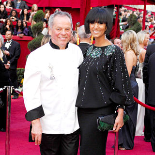 Wolfgang Puck, Gelila Assefa in The 82nd Annual Academy Awards (Oscars) - Arrivals