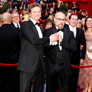 Colin Firth, Stanley Tucci in The 82nd Annual Academy Awards (Oscars) - Arrivals