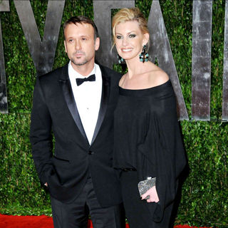 Tim McGraw, Faith Hill in The 82nd Annual Academy Awards (Oscars) - Vanity Fair Party - Arrivals