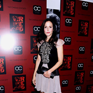 Mary-Louise Parker in The Cinema Society Film Screening of 'Red'