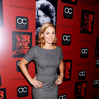 Erika Christensen in The Cinema Society Film Screening of 'Red'